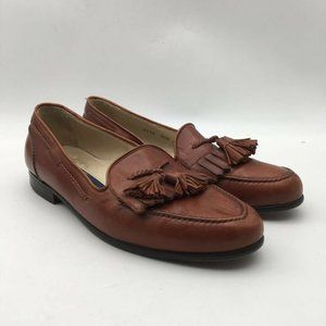 Bragano By Cole Haan Mens Loafers Shoes Brown 8.5M